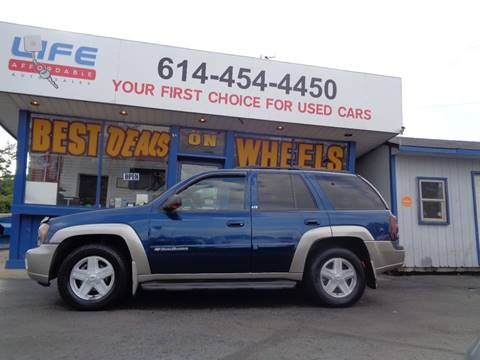 2002 Chevrolet TrailBlazer for sale at LIFE AFFORDABLE AUTO SALES in Columbus OH