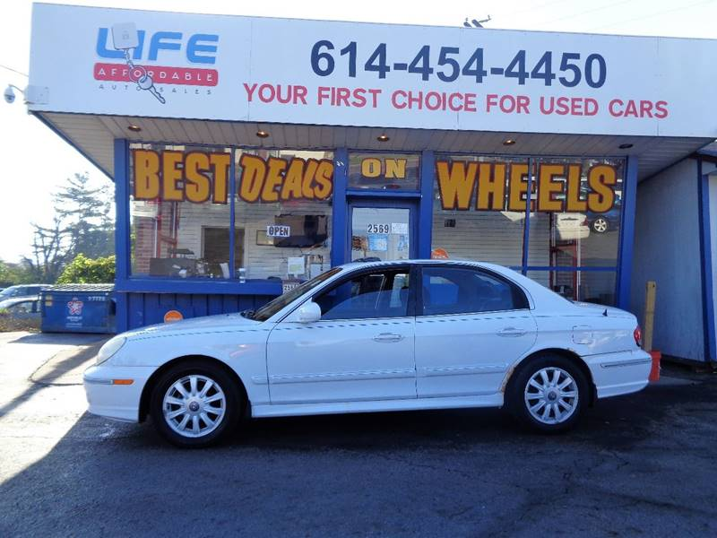 2002 Hyundai Sonata for sale at LIFE AFFORDABLE AUTO SALES in Columbus OH