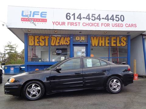 2004 Pontiac Grand Am for sale at LIFE AFFORDABLE AUTO SALES in Columbus OH