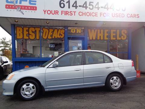 2003 Honda Civic for sale at LIFE AFFORDABLE AUTO SALES in Columbus OH
