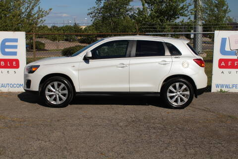 2014 Mitsubishi Outlander Sport for sale at LIFE AFFORDABLE AUTO SALES in Columbus OH