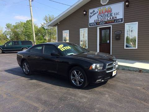 2014 Dodge Charger for sale at KEITH JORDAN'S 10 & UNDER in Lima OH