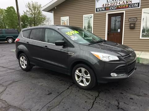 2016 Ford Escape for sale at KEITH JORDAN'S 10 & UNDER in Lima OH