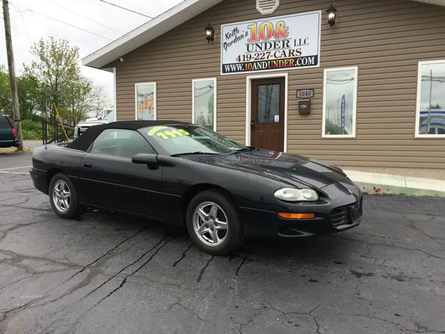 1999 Chevrolet Camaro for sale at KEITH JORDAN'S 10 & UNDER in Lima OH