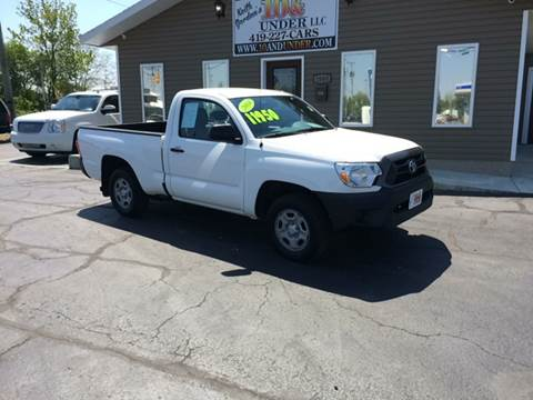 2014 Toyota Tacoma for sale at KEITH JORDAN'S 10 & UNDER in Lima OH