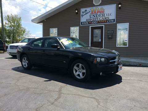 2010 Dodge Charger for sale at KEITH JORDAN'S 10 & UNDER in Lima OH