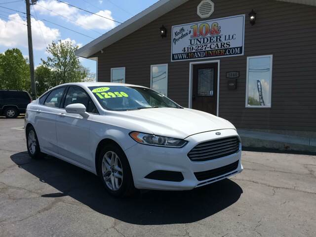 2015 Ford Fusion for sale at KEITH JORDAN'S 10 & UNDER in Lima OH
