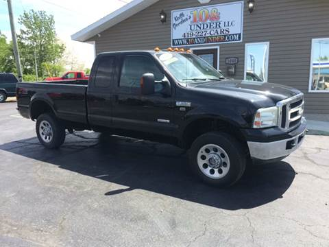 2006 Ford F-350 Super Duty for sale at KEITH JORDAN'S 10 & UNDER in Lima OH