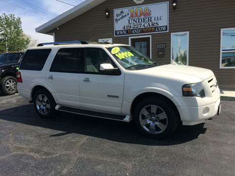 2007 Ford Expedition for sale at KEITH JORDAN'S 10 & UNDER in Lima OH