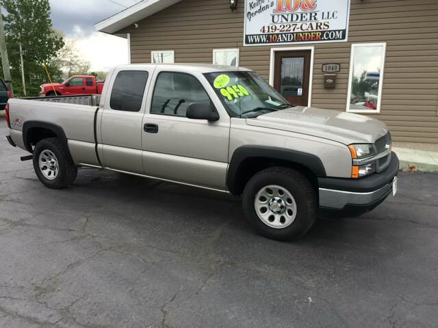 2005 Chevrolet Silverado 1500 for sale at KEITH JORDAN'S 10 & UNDER in Lima OH