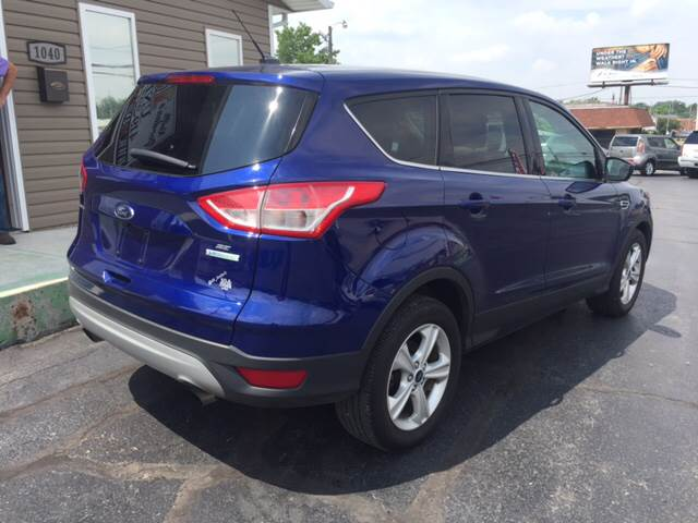 2014 Ford Escape for sale at KEITH JORDAN'S 10 & UNDER in Lima OH