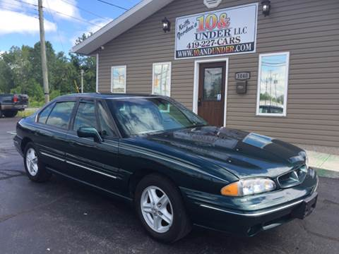 1999 Pontiac Bonneville for sale at KEITH JORDAN'S 10 & UNDER in Lima OH