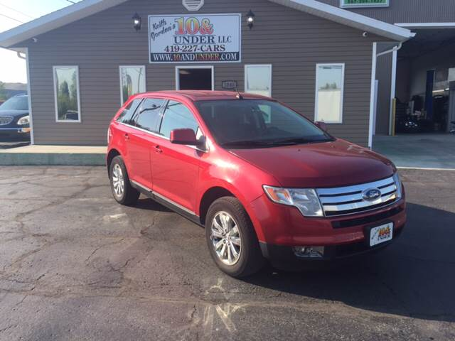 2008 Ford Edge for sale at KEITH JORDAN'S 10 & UNDER in Lima OH