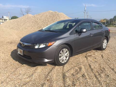 2012 Honda Civic for sale at KEITH JORDAN'S 10 & UNDER in Lima OH