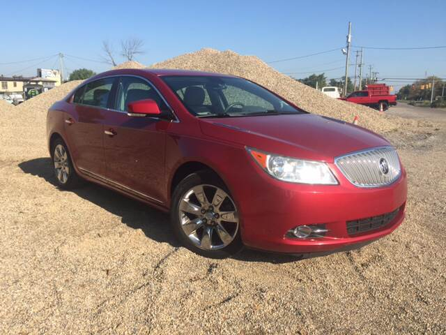 2012 Buick LaCrosse for sale at KEITH JORDAN'S 10 & UNDER in Lima OH