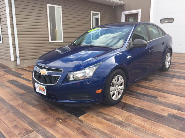 2012 Chevrolet Cruze for sale at KEITH JORDAN'S 10 & UNDER in Lima OH