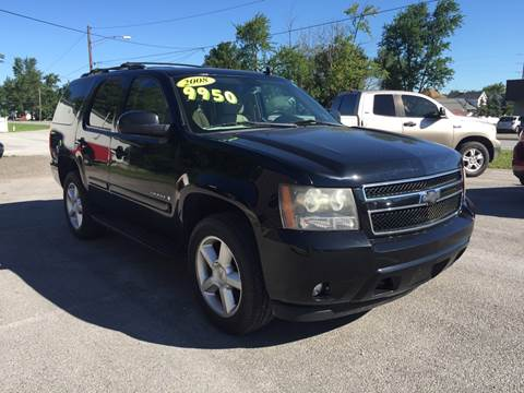 2008 Chevrolet Tahoe for sale at KEITH JORDAN'S 10 & UNDER in Lima OH