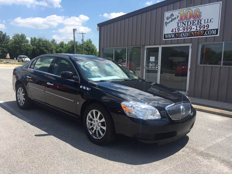 2009 Buick Lucerne for sale at KEITH JORDAN'S 10 & UNDER in Lima OH