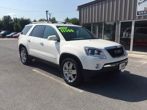 2010 GMC Acadia for sale at KEITH JORDAN'S 10 & UNDER in Lima OH