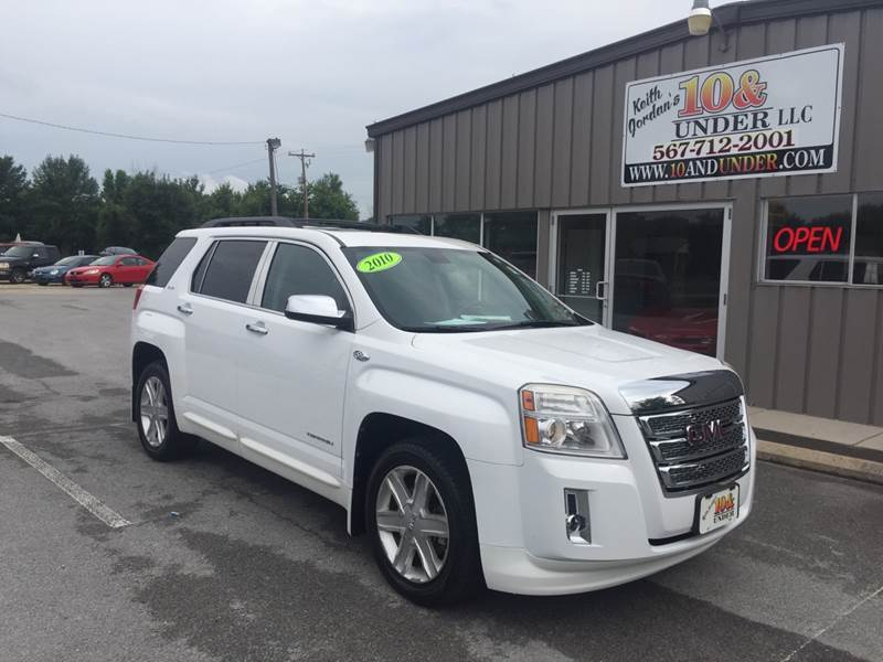 2010 GMC Terrain for sale at KEITH JORDAN'S 10 & UNDER in Lima OH