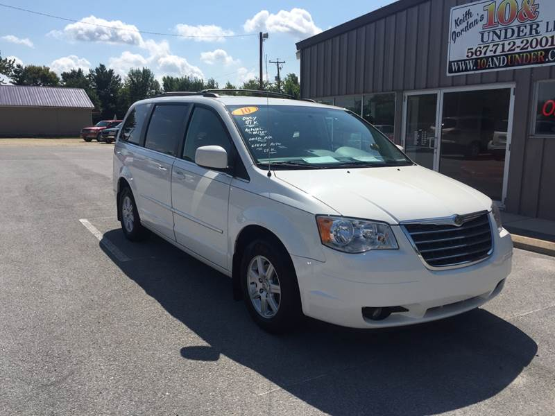 2010 chrysler town and country touring in lima oh keith jordan 39 s 10 under. Black Bedroom Furniture Sets. Home Design Ideas