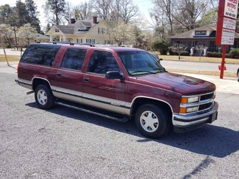 1999 Chevrolet Suburban for sale at Pamplico Motors in Pamplico SC