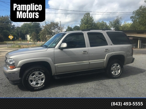 2005 Chevrolet Tahoe for sale in Pamplico, SC
