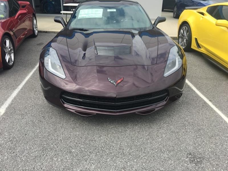 2017 Chevrolet Corvette Stingray Z51 2dr Coupe w/1LT - South Williamson KY