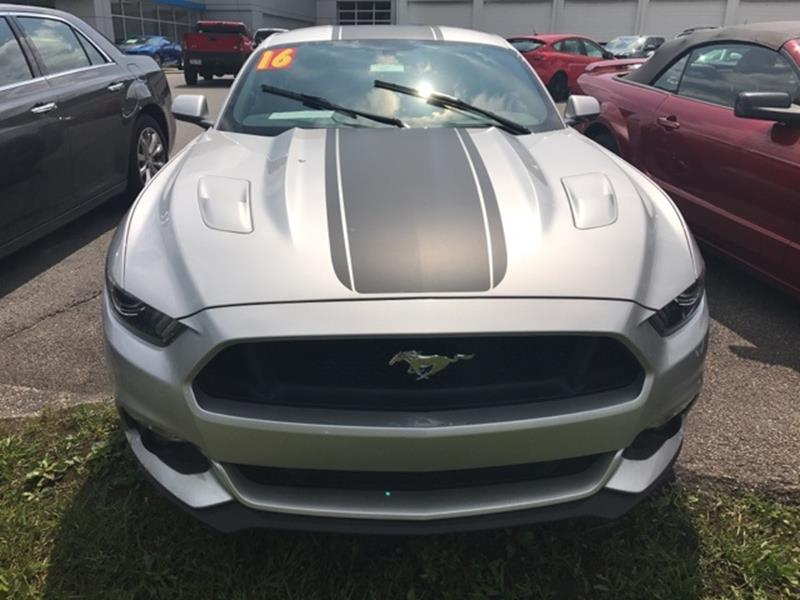 2016 Ford Mustang GT Premium 2dr Fastback - South Williamson KY