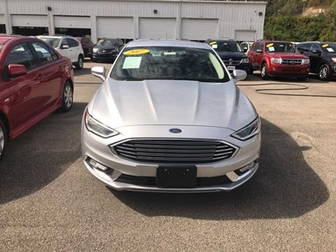 2017 Ford Fusion for sale in South Williamson, KY