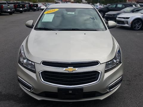 2016 Chevrolet Cruze Limited for sale in South Williamson, KY