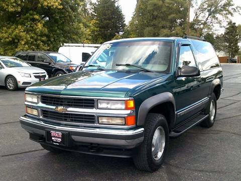 1996 Chevrolet Tahoe for sale in Troy, OH