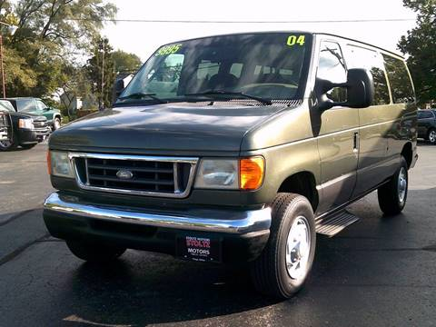 2004 Ford E-Series Wagon for sale in Troy, OH