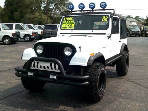 1986 Jeep CJ-7 for sale in Troy, OH