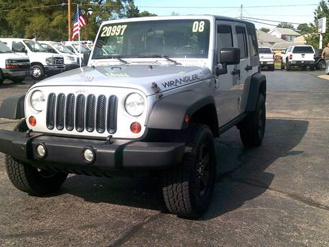 2008 Jeep Wrangler Unlimited for sale in Troy, OH