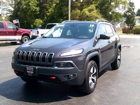 2016 Jeep Cherokee for sale at Stoltz Motors in Troy OH