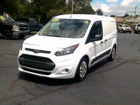 2015 Ford Transit Connect Cargo for sale at Stoltz Motors in Troy OH