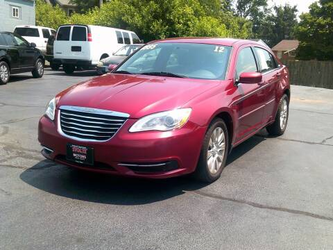 2012 Chrysler 200 for sale at Stoltz Motors in Troy OH