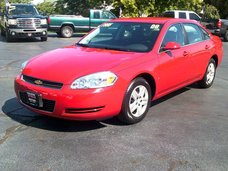 2008 Chevrolet Impala for sale at Stoltz Motors in Troy OH