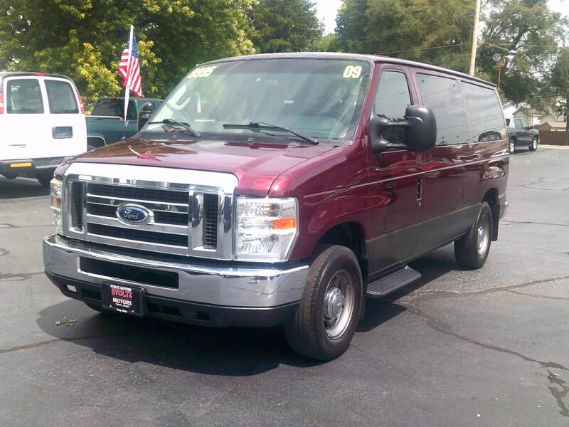 2009 Ford E-Series Wagon for sale at Stoltz Motors in Troy OH