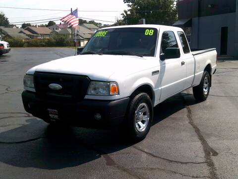 2008 Ford Ranger for sale at Stoltz Motors in Troy OH