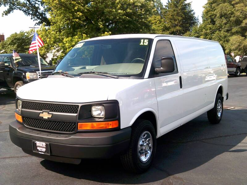 2015 Chevrolet Express Cargo for sale at Stoltz Motors in Troy OH