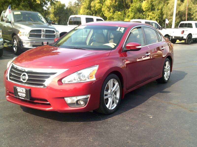 2013 Nissan Altima for sale at Stoltz Motors in Troy OH