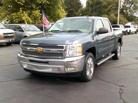 2012 Chevrolet Silverado 1500 for sale at Stoltz Motors in Troy OH