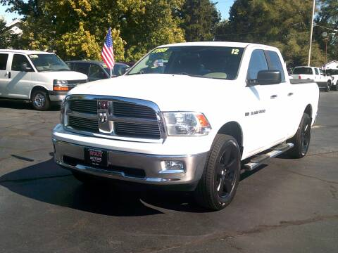 2012 RAM Ram Pickup 1500 for sale at Stoltz Motors in Troy OH