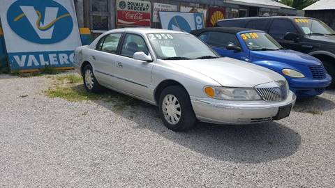 1999 Lincoln Continental for sale in Vanceburg, KY