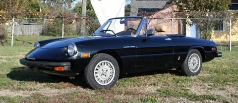 Alfa Romeo Spider For Sale In Orlando FL Carsforsalecom - 1979 alfa romeo spider for sale