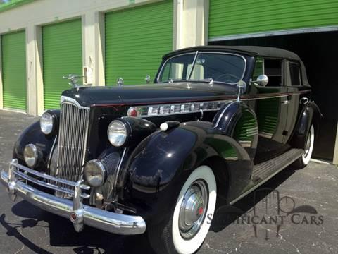 1940 Packard 160 Convertible Sedan