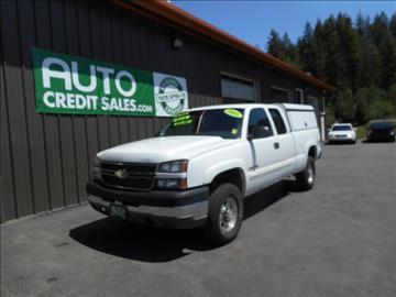 2005 Chevrolet Silverado 2500HD for sale in Hayden, ID
