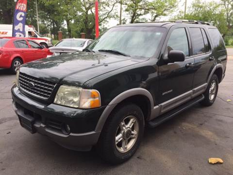 2002 Ford Explorer for sale at Morelia Auto Sales & Service in Maywood IL